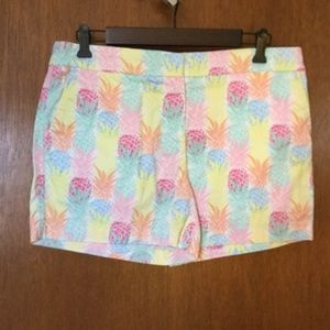 Cynthia Rowley pineapple shorts